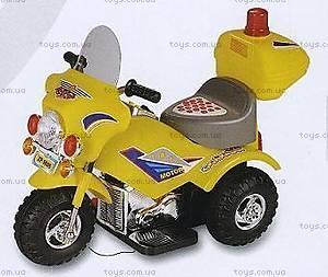 Желтый электромобиль-мотоцикл, ZP-9886 YELLO