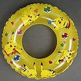 Желтый круг с рисунком покемонов, 779-702, фото
