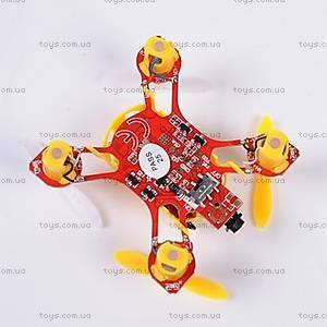 Желтый нано квадрокоптер Velocity, WL-V272y, фото