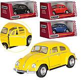 Желтый Volkswagen Beetle, KT50 WM