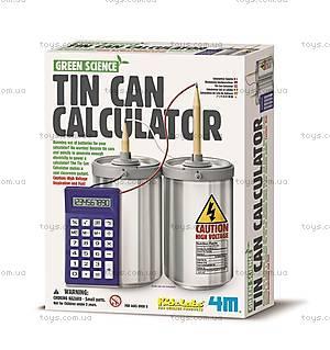 Набор для экспериментов «Жестяной калькулятор», 00-03360