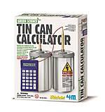 Набор для экспериментов «Жестяной калькулятор», 00-03360, фото