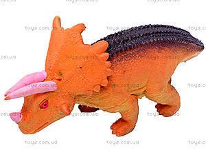 Животные резиновые «Динозавры», 7211, игрушки
