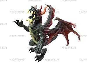 Животные резиновые «Дракон», Q9899-06, детские игрушки