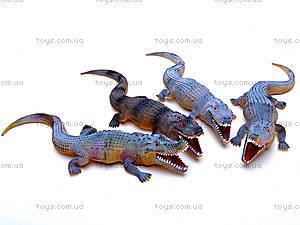 Животные резиновые «Крокодилы», A1012