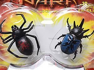 Жуки микро-роботы Legend of Nara, 2 штуки, 638-2, детские игрушки