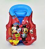 Жилет надувной «Микки Маус» размер С, F21542, интернет магазин22 игрушки Украина