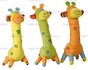 Детская мягкая игрушка «Жираф», GRPU0\M