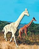 Конструктор деревянный «Жираф», М020, детские игрушки