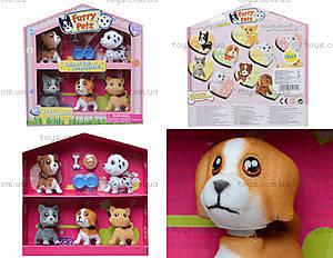 Набор игрушечных животных флок с аксессуарами, 2102