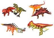 Мини фигурки динозавров, 3 вида, Q9899-170, фото