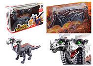 Двухголовый динозавр, с эффектами , 818A, купить