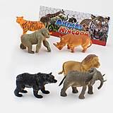 Животные дикие, для игры, 6 штук, 9618-25, купить