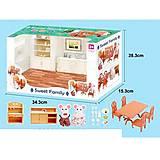 """Игровой набор """"Кухня-столовая"""" Sweet Famile с животными, 1601F, отзывы"""
