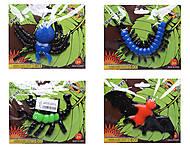 Игрушечные животные лизуны, 12 видов, 466-869