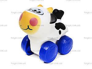 Животные на колесиках «Ферма», 9552, игрушки