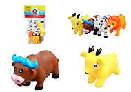 Животные-пищалки для ванной «Зоопарк», 58004, фото
