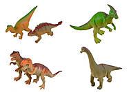"""Животные резиновые """"Динозавры"""" ассорти, K13, фото"""