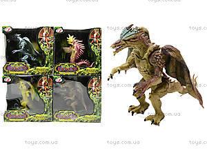 Животные резиновые «Драконы», Q9899-69, детские игрушки