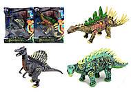 Игрушечное резиновое животное «Динозавр», Q9899-210, фото