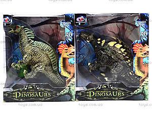 Игрушечное резиновое животное «Динозавр», Q9899-210, toys.com.ua