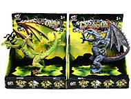 Резиновые фигурки динозавров, Q9899-121, фото