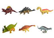 Животные резиновые динозавры, с наполнителем, ассорти, W6328-207206137149221, фото