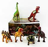 Животные резиновые игрушечные «Динозавры» ассорти, K14