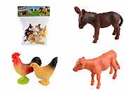 """Игровой набор """"Домашние животные"""", 12 штук, A012, фото"""