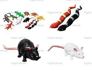 Набор игрушек-тянучек «Животные и рептилии», A043P