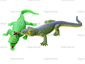 Набор игрушек-тянучек «Животные и рептилии», A043P, игрушки