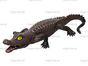 Набор игрушек-тянучек «Животные и рептилии», A043P, магазин игрушек