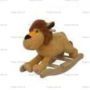 Качалка деревянная «Лев», WJ-715