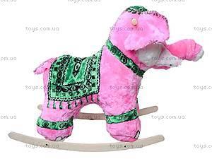 Качалка деревянная «Слон Раджа», 40013-2, купить