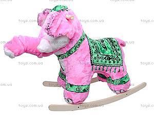 Качалка деревянная «Слон Раджа», 40013-2, отзывы