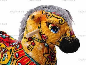 Качалка-лошадь «Лошадь Огонь», желтая, 40050-6, отзывы