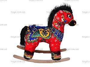 Качалка «Лошадь Огонь», красная, 40050-1
