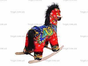 Качалка «Лошадь Огонь», красная, 40050-1, купить