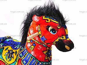 Качалка «Лошадь Огонь», красная, 40050-1, фото