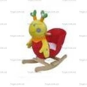 Качалка «Пчелка», деревянная, WJ-613