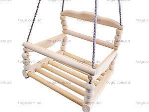 Качель деревянная «Гуцулочка», К112, отзывы