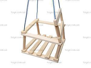 Качель деревянная для детей, К09, фото