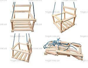 Качель деревянная для детей, К09