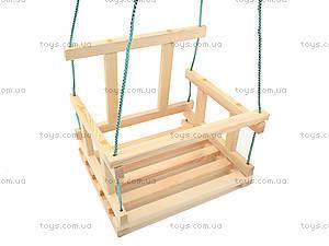 Качель деревянная детская, КАЧ005, купить