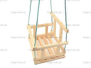Качель деревянная детская, КАЧ005, отзывы