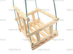 Качель деревянная детская, КАЧ005, цена