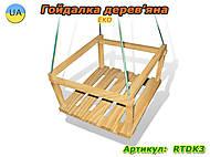 Качелька деревянная, RTDK3, фото