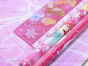 Канцелярский набор для первоклассника «Принцессы», PRBB-US1-5060-BL, купить