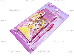 Канцелярский набор с пеналом «Принцессы», BRAB-US1-430-BL, купить