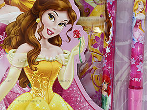 Канцелярский набор с пеналом «Принцессы», BRAB-US1-430-BL, отзывы